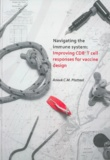 Thesis cover: Navigating the immune system