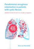Thesis cover: Pseudomonas aeruginosa colonization in patients with cystic fibrosis