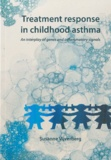 Thesis cover: Treatment response in childhood asthma