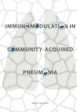 Thesis cover: Immunomodulation in community-acquired pneumonia