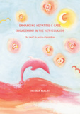 Thesis cover: Enhancing hepatitis C care engagement in the Netherlands